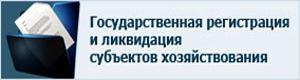 Государственная регистрация (ликвидация) субъектов хозяйствования и общественных организаций