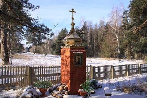Благоустройство кладбища в деревне Новые Коноплицы уроженкой Рогачёвского района Альтшулер Антониной