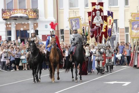 День белорусской письменности в Рогачеве. Смотреть еще по ссылке http://www.slova.by/?p=76119